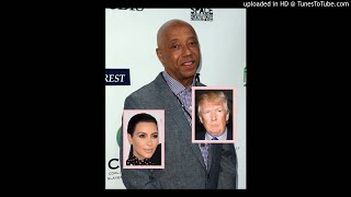 "Russell Simmons Disagrees with Kim Kardashian's ""Best News Ever"" Tweet About Trump&#0"