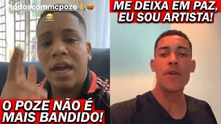 MC POZE pede força aos fãs, sua namorada e MC Borges defendem Mc Poze