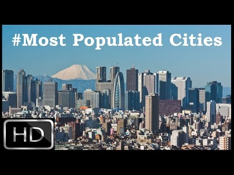 Most Populated Cities in the World 2015 | Top 5 Battle