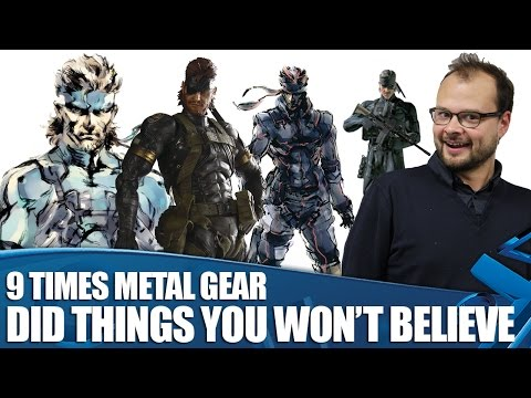 9 Times Metal Gear Did Things You Won't Believe