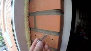 видео Как сверлить кирпичную стену