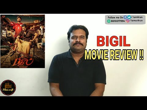 Bigil Review By Filmi Craft Arun | Vijay | Nayanthara | Atlee | A.R.Rahman