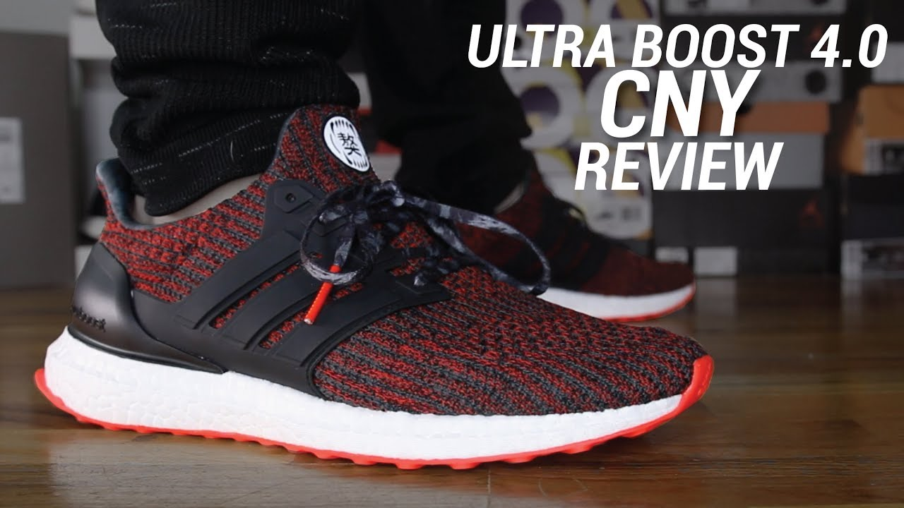 ac6d92b47b642 ADIDAS ULTRA BOOST 4.0 CHINESE NEW YEAR REVIEW - YouTube