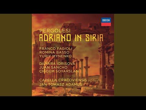 """Pergolesi: Adriano in Siria / Act 2 - """"Torbido in volto e nero"""""""