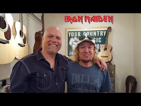 Meeting Adrian Smith and his wife Nathalie Defresne Smith