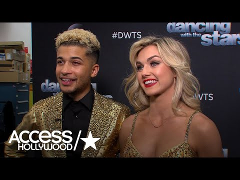 'DWTS': Jordan Fisher & Lindsay Arnold On Making It To The Finals | Access Hollywood