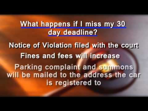 If you have received a Scottsdale Parking Notice of Violation