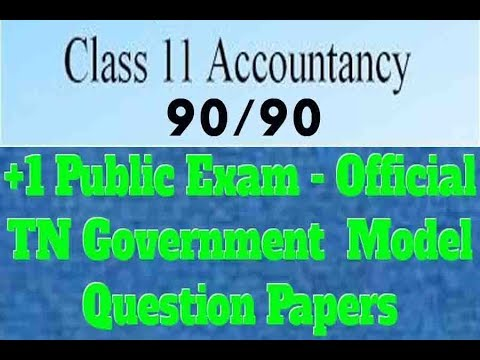 Easy Tips For Accountancy/ Easy Way To Get 90/90/English Medium /Tamil Explanation