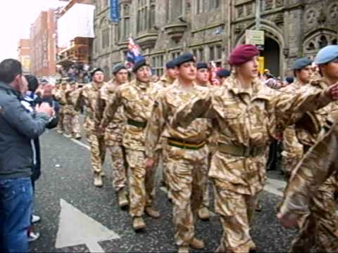 Royal Irish Regiment, Home Coming Parade