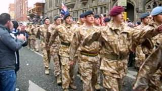 Royal Irish Regiment, Home Coming Parade