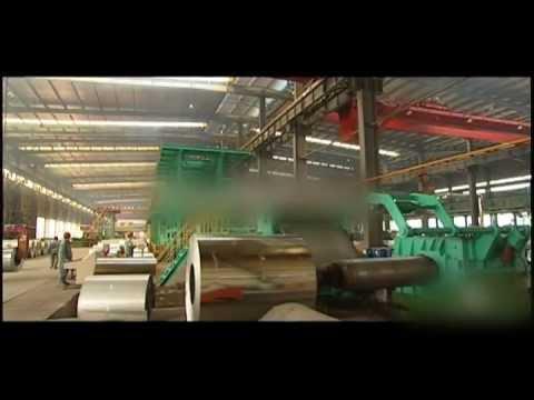 Окрашивание рулонной оцинкованной стали