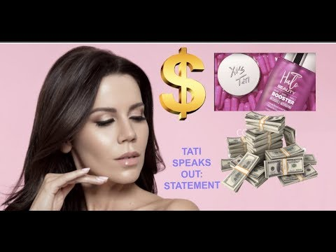 TATI WESTBROOK - HALO BEAUTY REPORTEDLY RAKES IN $1 MILLION IN 12 HOURS