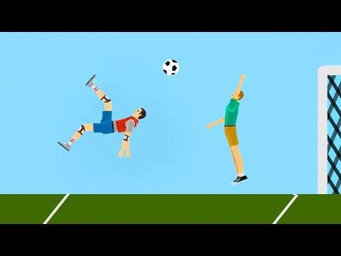 WORLD'S BEST FOOTBALL GOAL EVER! (Happy Wheels #83)