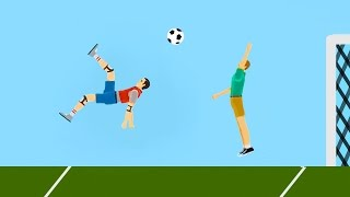 WORLD'S BEST FOOTBALL GOAL EVER! (Happy Wheels #83)