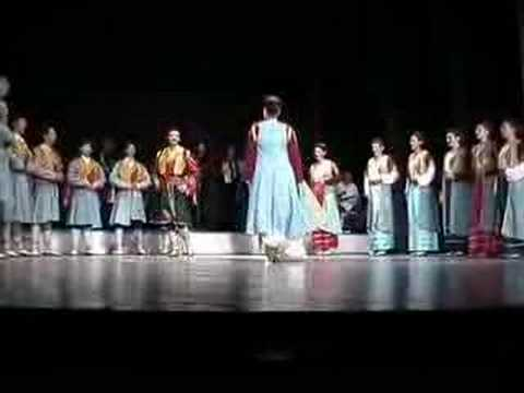 Folk dances from Montenegro