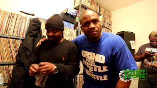 M.Reck On East Ny Radio With Dj P.F. Cuttin , Sean Price And Streetz