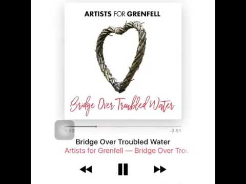 Loui&liam_  Artists for grenfell - bridge over troubled water(1)