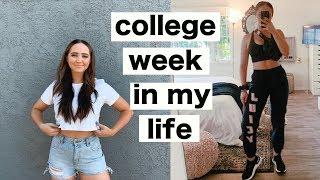 COLLEGE WEEK IN MY LIFE | haul, school tour, emotional break down