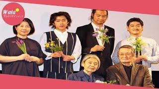 樹木希林(75)が22日、都内で映画「モリのいる場所」(沖田修一監...