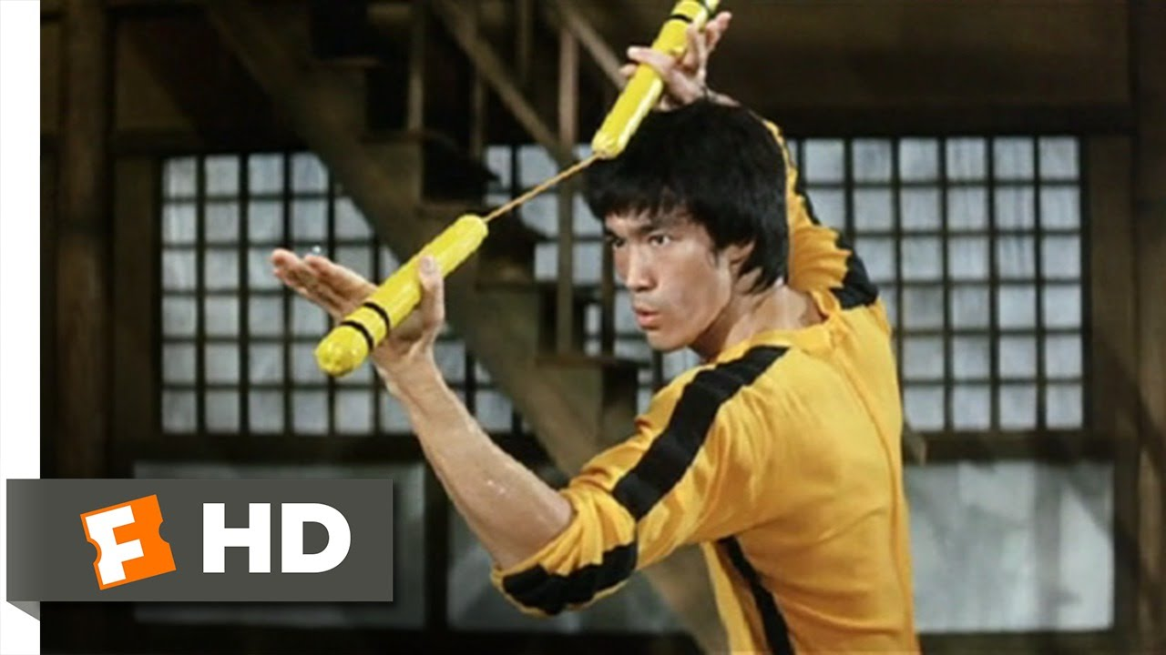 Game Of Death 6 10 Movie Clip Dueling Nunchakus 1978 Hd