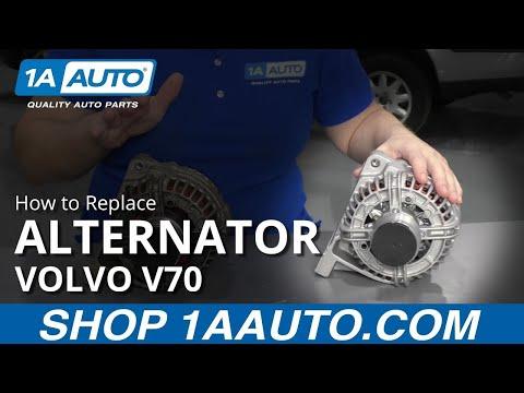 How to Replace Alternator 99-04 Volvo V70