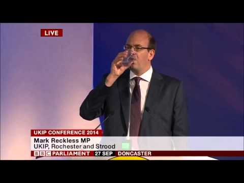 Tory MP Mark Reckless defects to UKIP