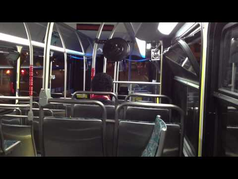 Ride on Culver City Bus New Flyer XN40 7117 (Xcelsior) [1080p]