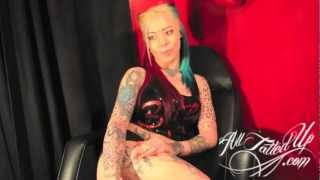 LADY LIVE VIDEO VIXEN ALTERNATIVE MODEL (ALLTATTEDUPDOTCOM)
