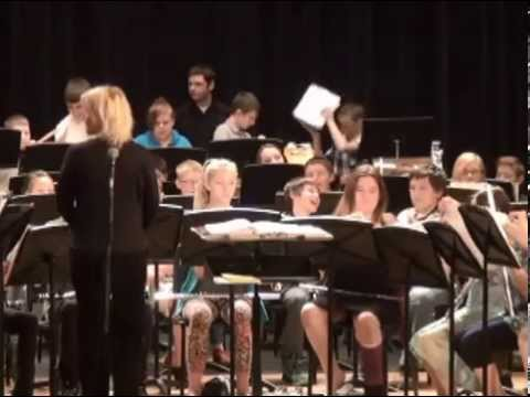 Superior Middle School 6th Spring Band concert  2015
