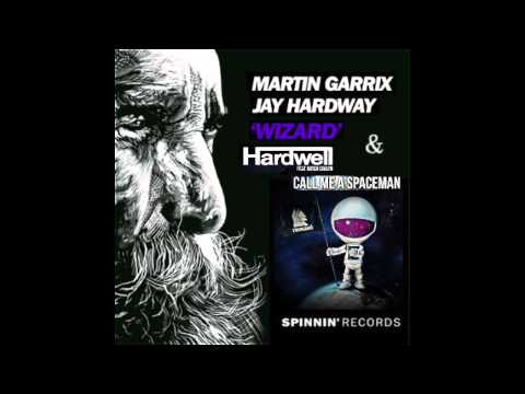 Martin Garrix & Hardwell - Wizard / Call Me A Spaceman (Mash-Up)