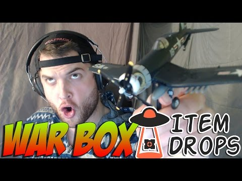 ITEMDROPS WARBOX THEME- Military/War Goodies! - March Unboxing :)