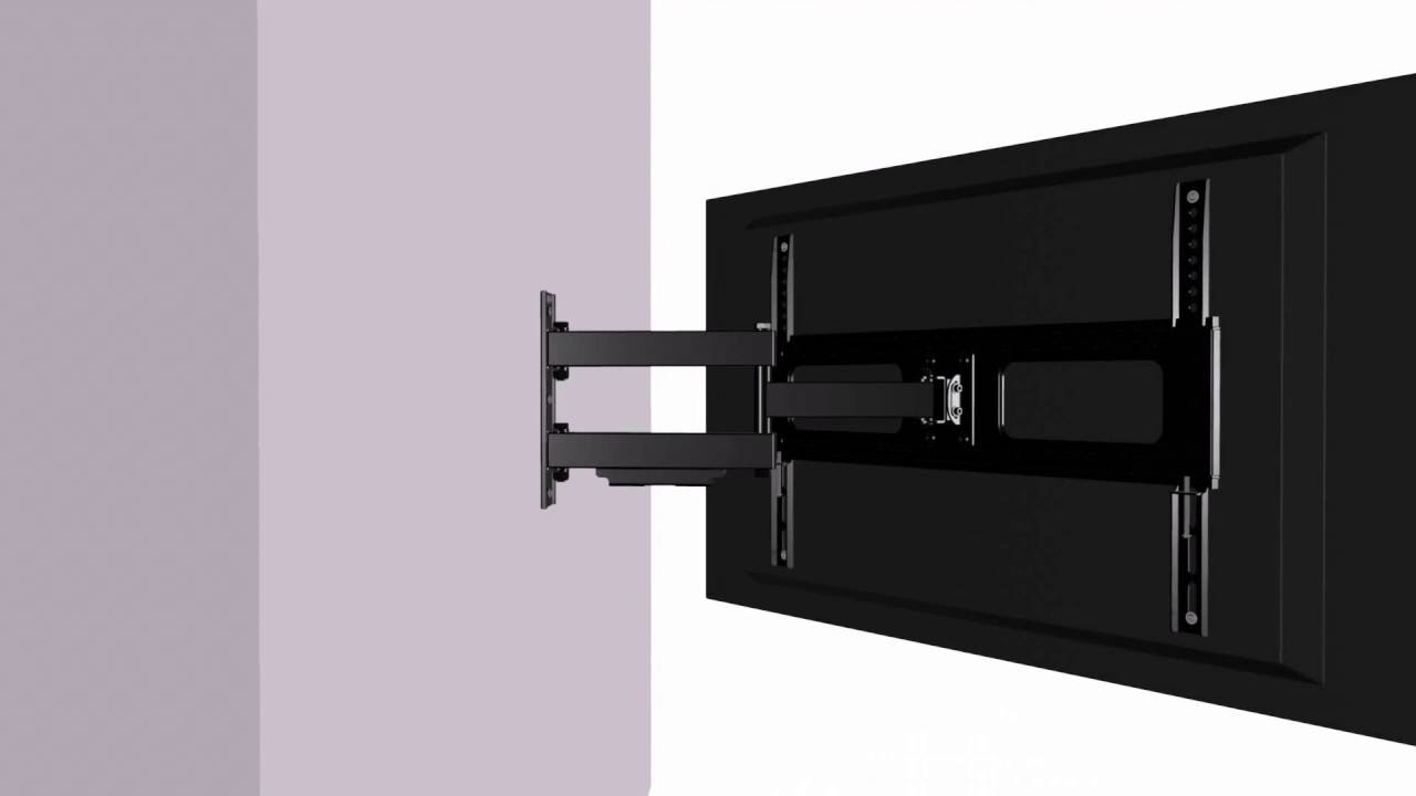 Gforce Gf P1124 1096 Full Motion Tilt Swivel Tv Wall Mount 37 70 Tvs Holds Up To 110 Lbs