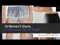 10 Women'S Shorts Collection By O'Neill Spring 2017 Collection