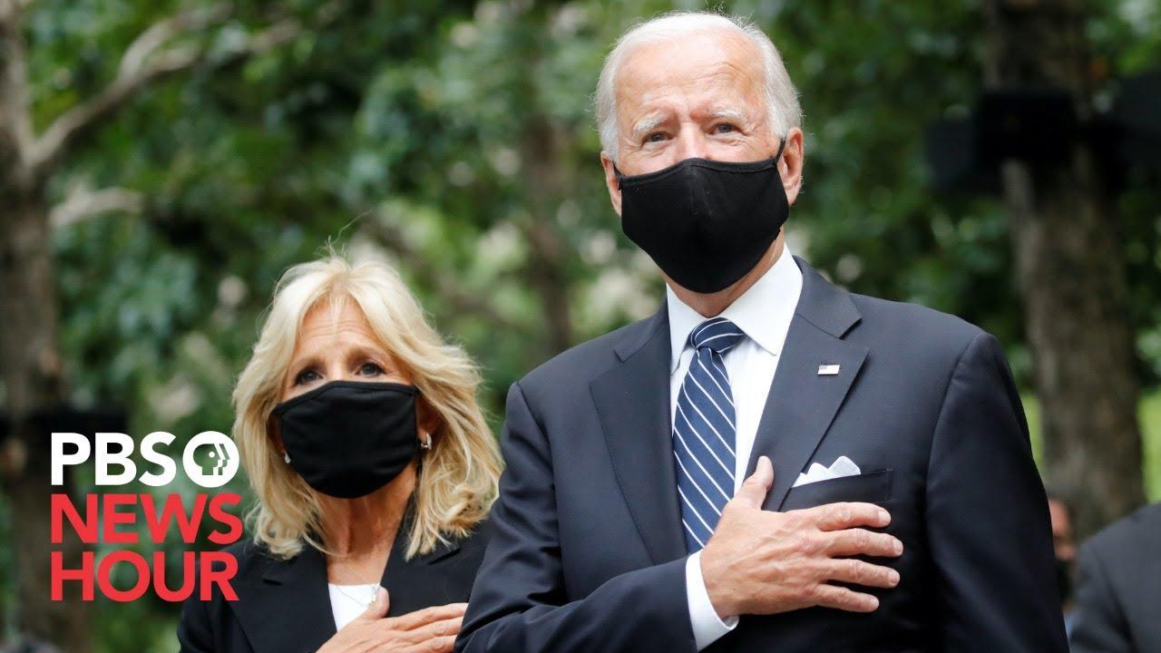 President Biden, first lady pay tribute at Flight 93 site in Shanksville