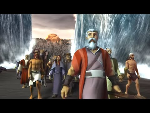 Superbook - Episode 4 - Let My People Go - Full Episode (Official HD Version)