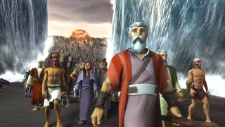 Superbook - Episodio 4 - Deja Ir a Mi Pueblo - Episodio Completo (Official HD Version)