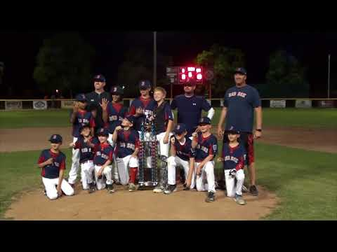 Turlock American Little League Red Sox 2017 Highlights