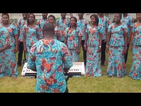 Captain of Israel's Host, M H B  608 performed by Young Chorale- Ghana