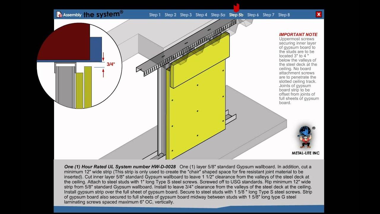 Metal Stud Framing Installation \