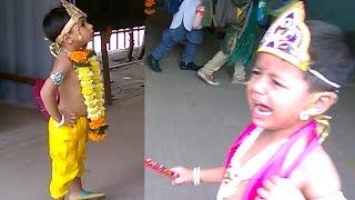 Janmashtami Celebrations: Cute Kids Dressed As Krishna, Radha And Meera