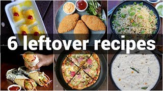 6 easy leftover recipes idea  everyday leftover recipes  बच हए खन स बन नशत