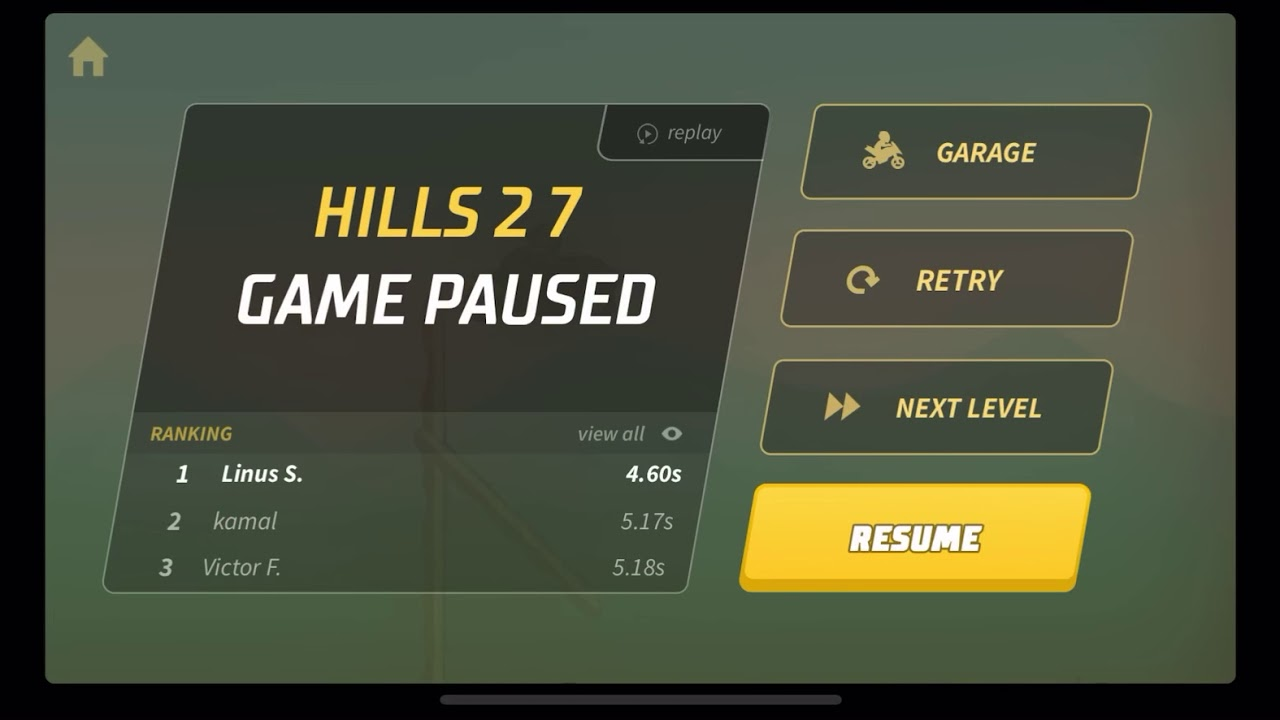 Bike Race - Hills 2 Level 7 Submission - .