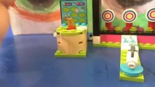Lego friend amusement park arcade review