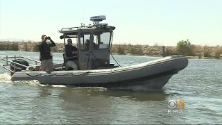 Law Enforcement Out In Force On Discovery Bay To Keep Things Safe On Holiday Weekend