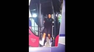 Роналду чуть не получил травму