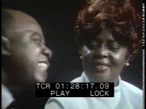 Louis and Lucille Armstrong - I'm Confessin' (That I Love You) - 1970