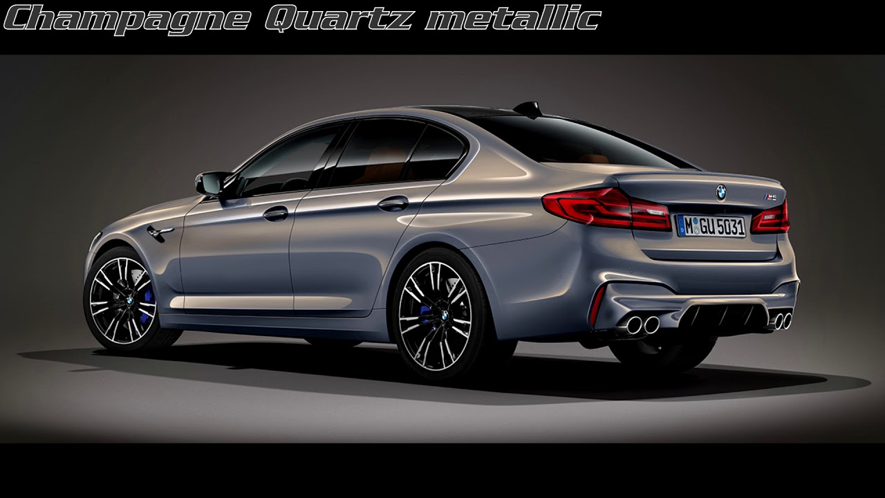 Individual F90 Bmw M5 Colours Youtube