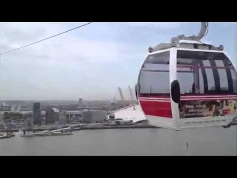 Thames cable car opens at Greenwich