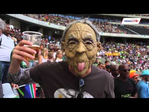 WATCH: Cape Town 7s - one big costume party!