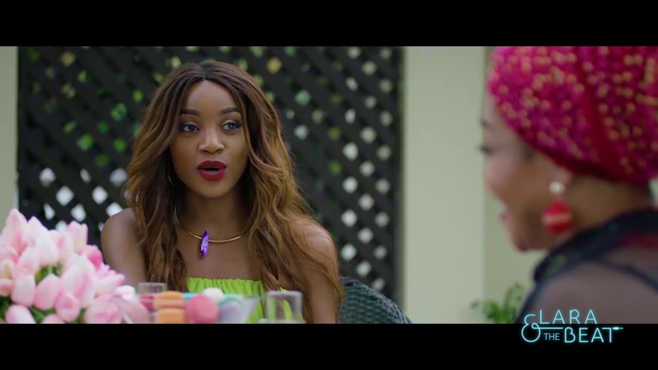 Download Behind the Scenes  Lara and the Beat Movie Starring Seyi Shay, Vector, Chioma Akpotha, Somkele